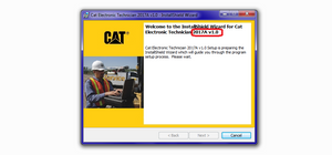 Electronic Technician ET2017A - Diagnostics Software For All Caterpillar Models  - Latest Version 2017 ! Online Installation Service !