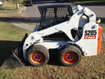 Bobcat S205 Skid Steer Loader All Serials And Models  High Flow & Turbo Workshop Service Manual