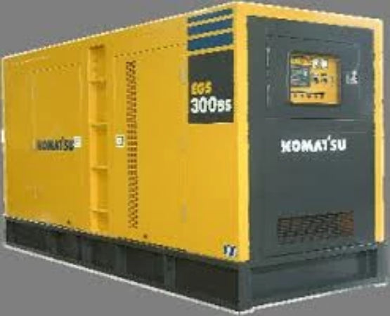 Komatsu EG Series EG300B-3 EG300-3 Engine Generator Official Service Repair Manual