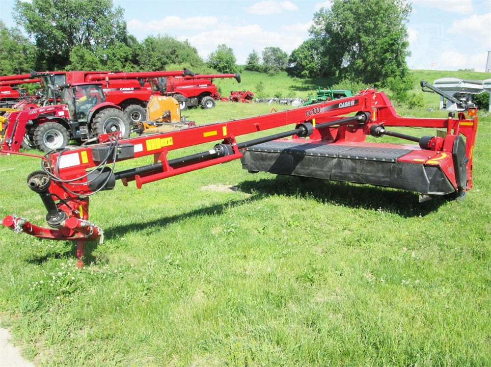 Case IH DC133 DC163 Disc Mower Conditioner Official Workshop Service Repair Manual