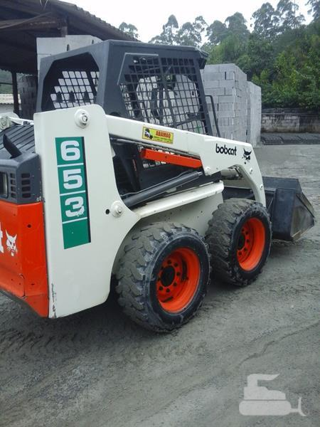 Bobcat 653 Skid Steer Loader Workshop Service Manual