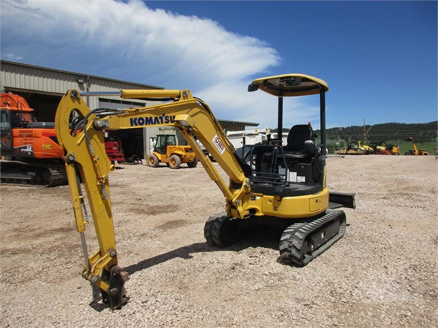 Komatsu PC27MR-3 PC30MR-3 PC35MR-3 Hydraulic Excavator Official Workshop Service Manual