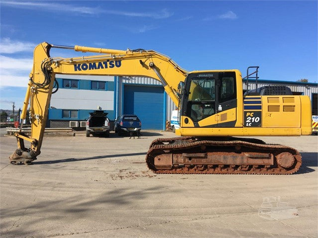Komatsu PC210LC-10 Hydraulic Excavator Official Workshop Service Repair Technical Manual