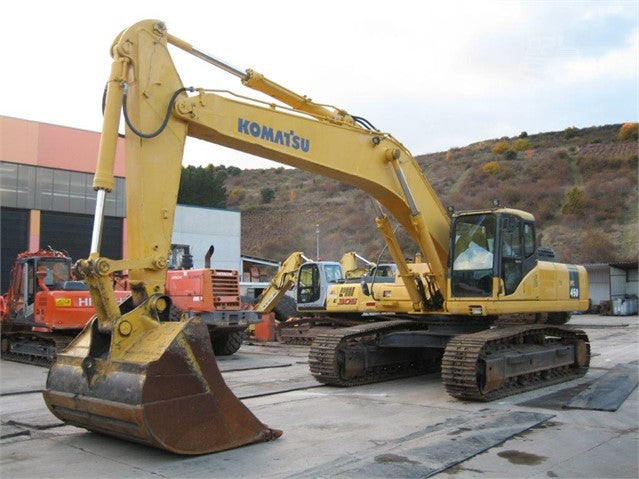 Komatsu PC450-7K PC450LC-7K Hydraulic Excavator Official Workshop Service Manual