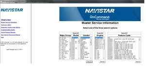 International Truck ISIS - Navistar OnCommand Service Information 7-2014