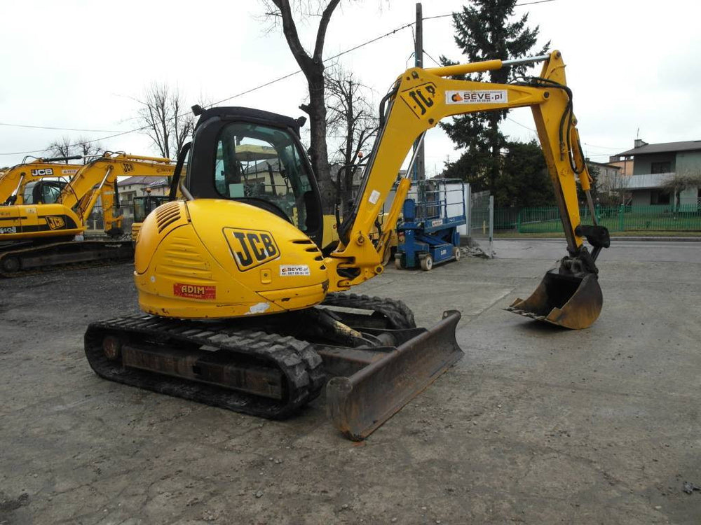 JCB 8080 Midi Excavator Workshop Service Repair Manual
