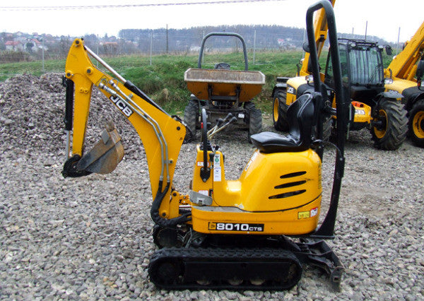 Jcb Micro, Micro Plus,Micro 8008 , 8010 Excavator Workshop Service Repair Manual