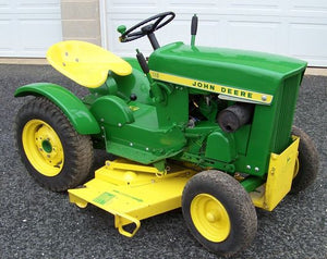 John Deere 110 and 112 Lawn and Garden Tractors Service Manual
