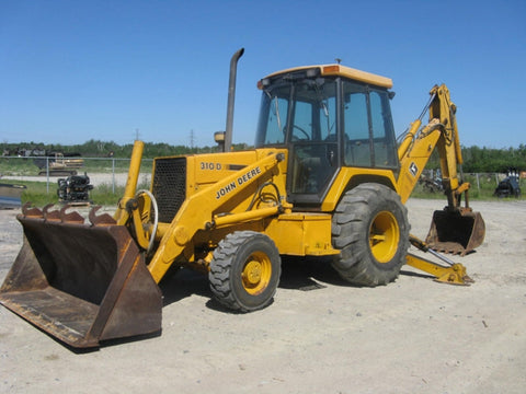 John Deere 310D Backhoe Loader Operation and Test Manual