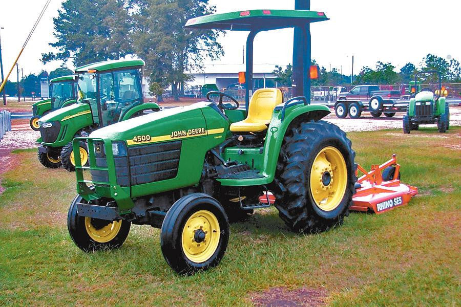 John Deere 4500 4600 And 4700 Compact Utility Tractors Technical Service Manual
