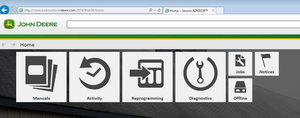 John Deere Service Advisor 5.2 CF & AG ALL Data Base 2019 - All Models All Serials Service Info Manuals & Diagnostics