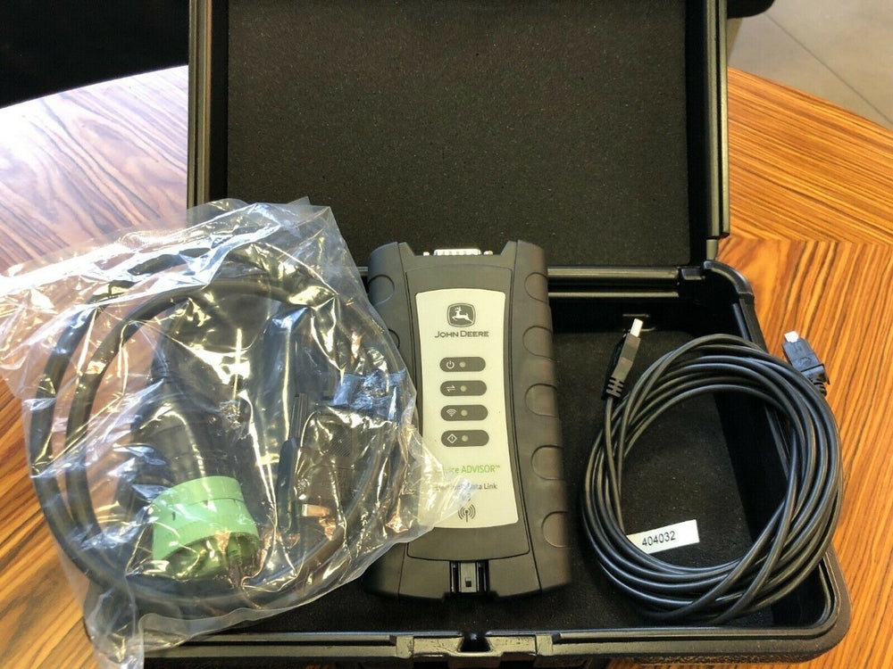 Diagnostic Kit EDL v3 (Electronic Data Link v3) Diagnostic Adapter For John Deere - Include Service Advisor Software 2017 ! Free & Fast Worldwide Shipping