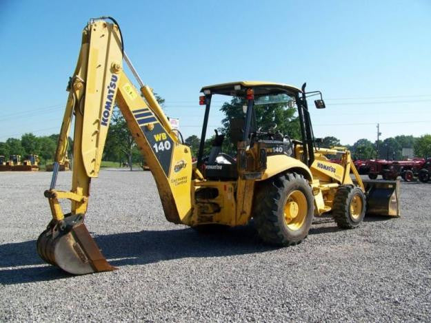 Komatsu WB140-2N WB150-2N Backhoe Loader Official OEM Worksop Service Repair Manual