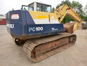 Komatsu PC100-5 PC120-5 Excavator Official Workshop Service Repair Technical Manual