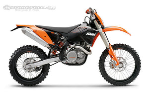 Ktm 400 450 530 EXC \ EXC Six-Days \ XC-W Six-Days WorkShop Service Repair Manual 2010-2011