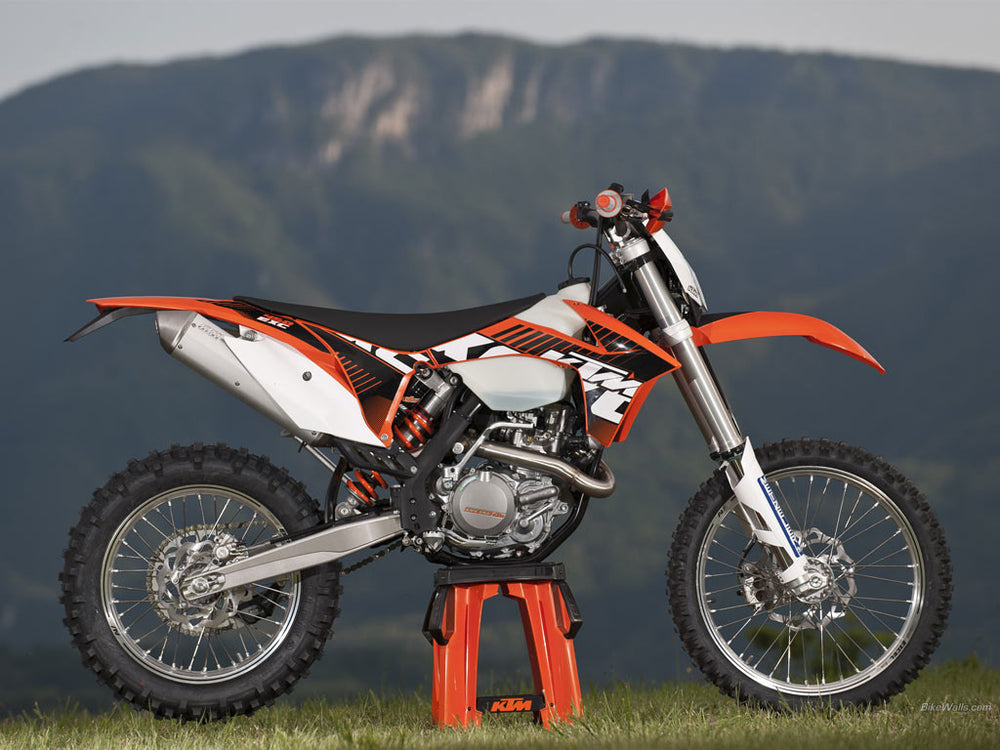 KTM 450 500 EXC \ EXC Six Days \ XC-W  Workshop Service Repair Manual 2012-2013