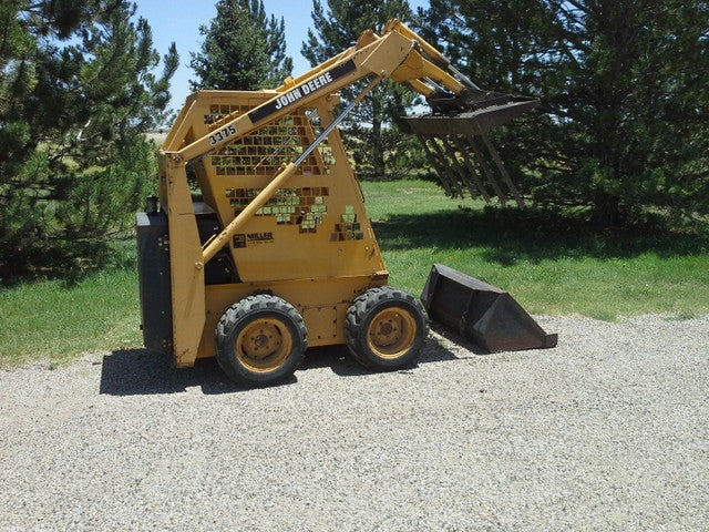 John Deere 3375 Skid Steer Loader Technical Service Manual
