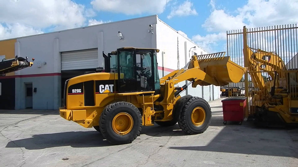 Caterpillar 928G Wheel Loader Official Workshop Service Repair Manual SN: WLG0001-Up
