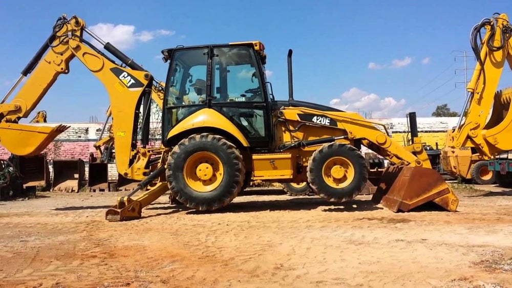 420E Backhoe Loader Workshop Service Repair Manual S/N : PRA