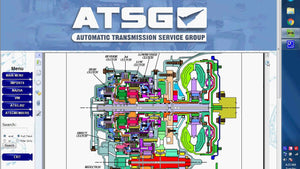 ATSG 2017 Automatic Transmission Service Group-All Bulletins And Guides Inclus - EPC - Diagnostics - Logiciel de service