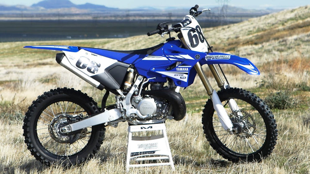 Yamaha YZ250 2-Stroke Dirt Bike Official Workshop Service Repair Manual 2001-2006