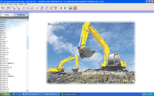 Hyundai Heavy Industries & Construction Equipment Parts Catalog 2013 (Hyundai Robex 2013 EPC)