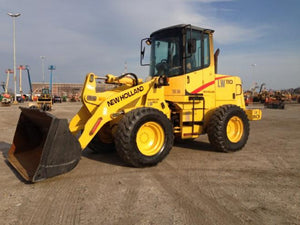 New Holland LW110 LW130 Wheel Loader Official Workshop Service Repair Technical Manual