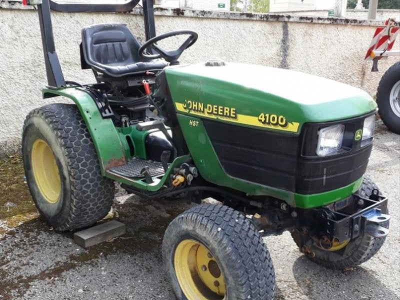 John Deere 4100 Compact Utility Tractors Official Workshop Service Repair Technical Manual