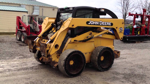 John Deere 260 And 270 Skid Steer Loader Technical Service Repair Manual