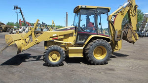 Caterpillar 416C Backhoe Loader Official Workshop Service Repair Manual For Serials 4ZN