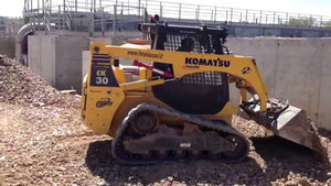 Komatsu CK30-1 Compact Track Loader OEM Official Workshop Service Repair Manual