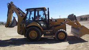 420F Backhoe Loader Official Workshop Service Repair Manual S/N : SKR