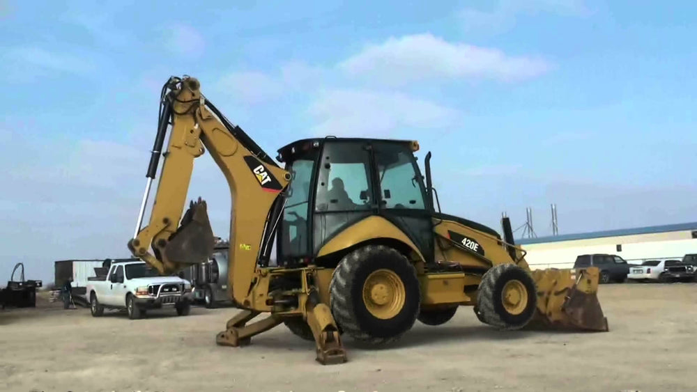 Caterpillar 420E And 430E Backhoe Loader Hydraulic System Schematic