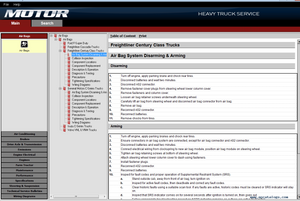 2020 Motor Heavy Truck Service v19.0 - Diagnostic Repair And Service Procedures Service Information & Wiring Diagrams- Online Installation Service !