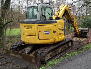 New Holland E70BSR Midi Excavator Official Workshop Service Repair Technical Manual