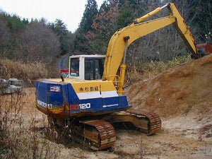 Komatsu PC120-5 Mighty Excavator Official Workshop Service Repair Technical Manual