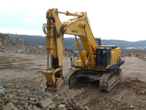 Komatsu PC1100-6 PC1100SP-6 Hydraulic Excavator Manuel officiel d'instruction d'assemblage sur le terrain