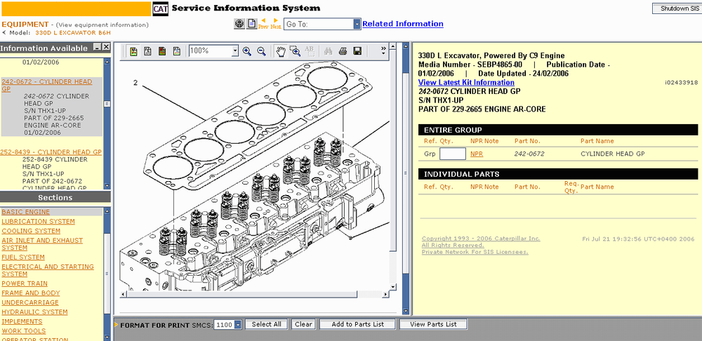 Sis 2016 Epc And Service Information For All Caterpillar Models Flash Dvd Files 257b Solenoid Wiring Diagram Schematic Electronic: Cat 257b Wiring Diagram At Executivepassage.co