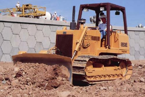 Case 850 850E 855E Crawler Dozer Workshop Service Repair & Operation Manuals Set