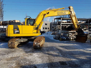 Komatsu PC190LC-8 PC190NLC-8 Hydraulic Excavator Official Workshop Service Manual