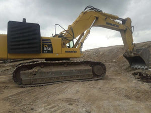 Komatsu PC850-8 PC850SE-8 Hydraulic Excavator Official Field Assembly Instruction Manual