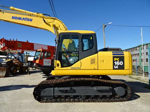 Komatsu PC160LC-7 Hydraulic Excavator Official Workshop Service Repair Technical Manual #2