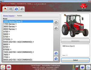 AGCO EDT Electronic Diagnostic Tool 1.80 - Latest Version 2017