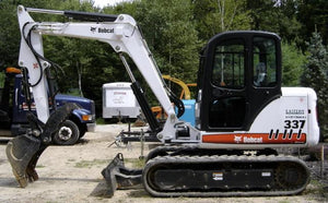 Bobcat 337 341 337X 341X Mini Excavator Workshop Service Repair Manual