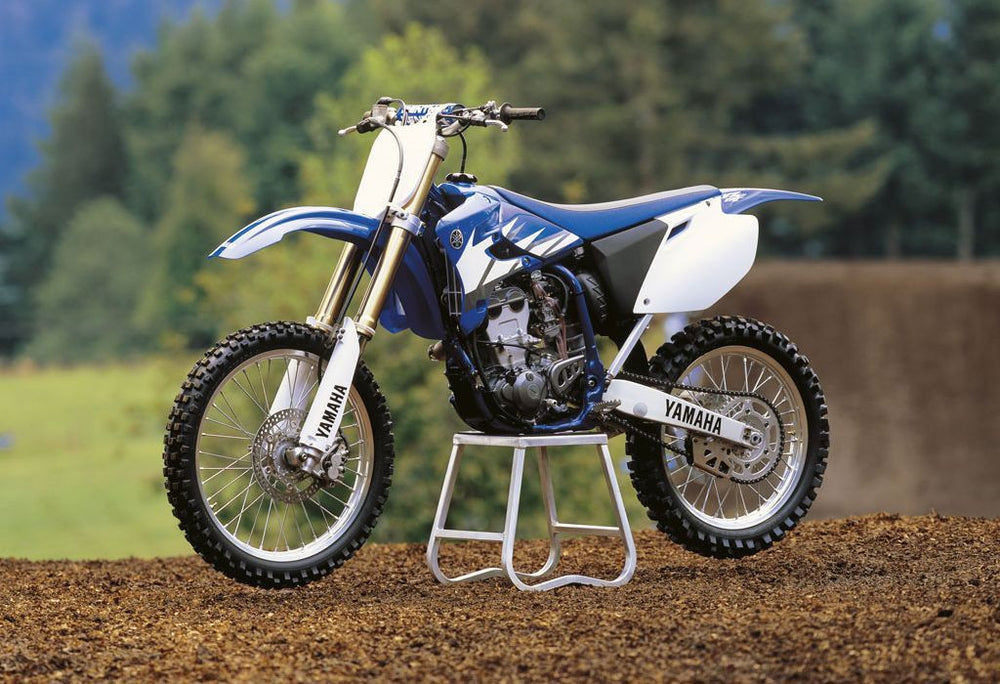 Yamaha YZ250F 4 tiempos Dirt Bike Official Workshop Service Manual de reparación 2001-2006