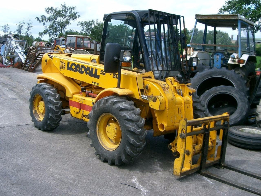 JCB 520 520-50 525-50 525-50S Telescopic Handler Workshop Service Manuel de réparation