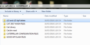 500MB Helpful Caterpillar Flash, Wash And configuration Files Collection