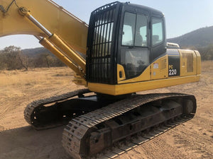 Komatsu PC220-7 PC220LC-7 Hydraulic Excavator Official Workshop Service Manual