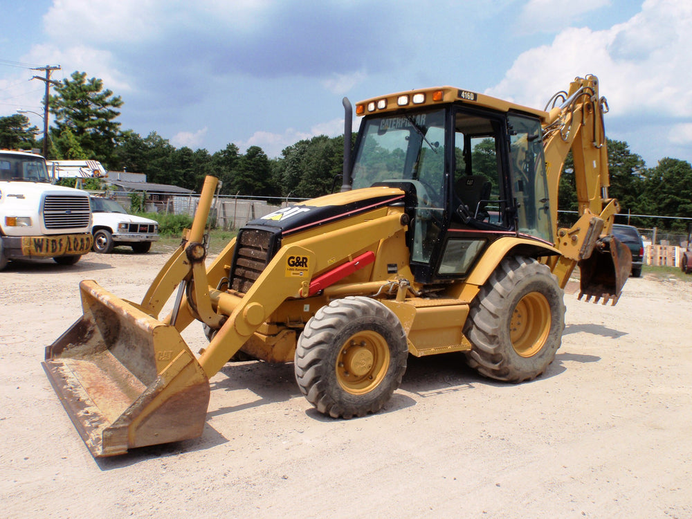 Caterpillar 416D Backhoe Loader Parts Manual \ Parts Catalog