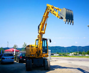 Komatsu PW75R-2 Wheeled Excavator Official Workshop Service Repair Manuel